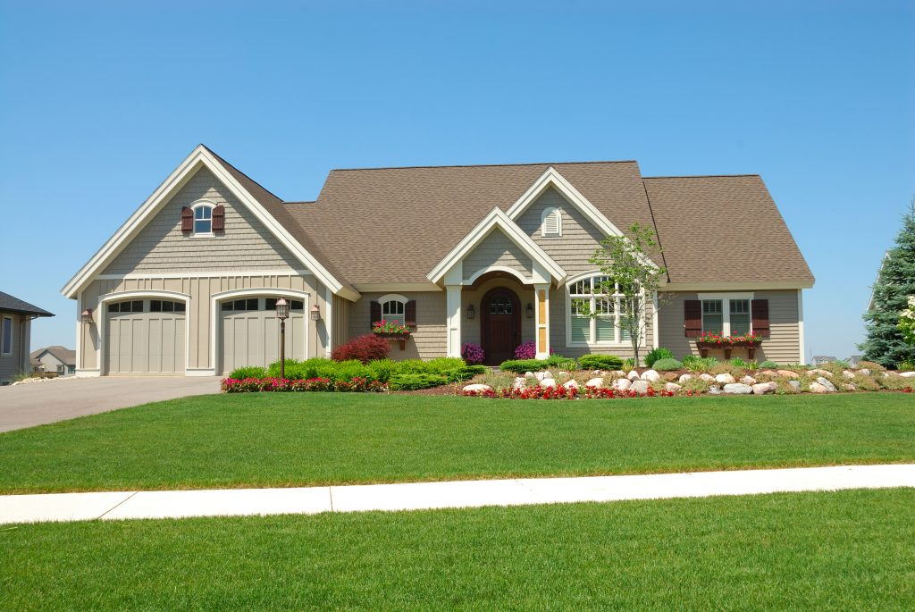 Roofing Contractors Forest Lake MN - New Home with New Roof on It