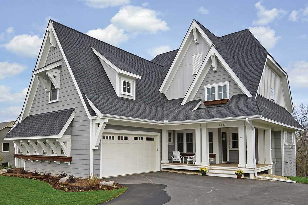 Roofing Contractors Lino Lakes MN - A New Roof on a Two Story Home